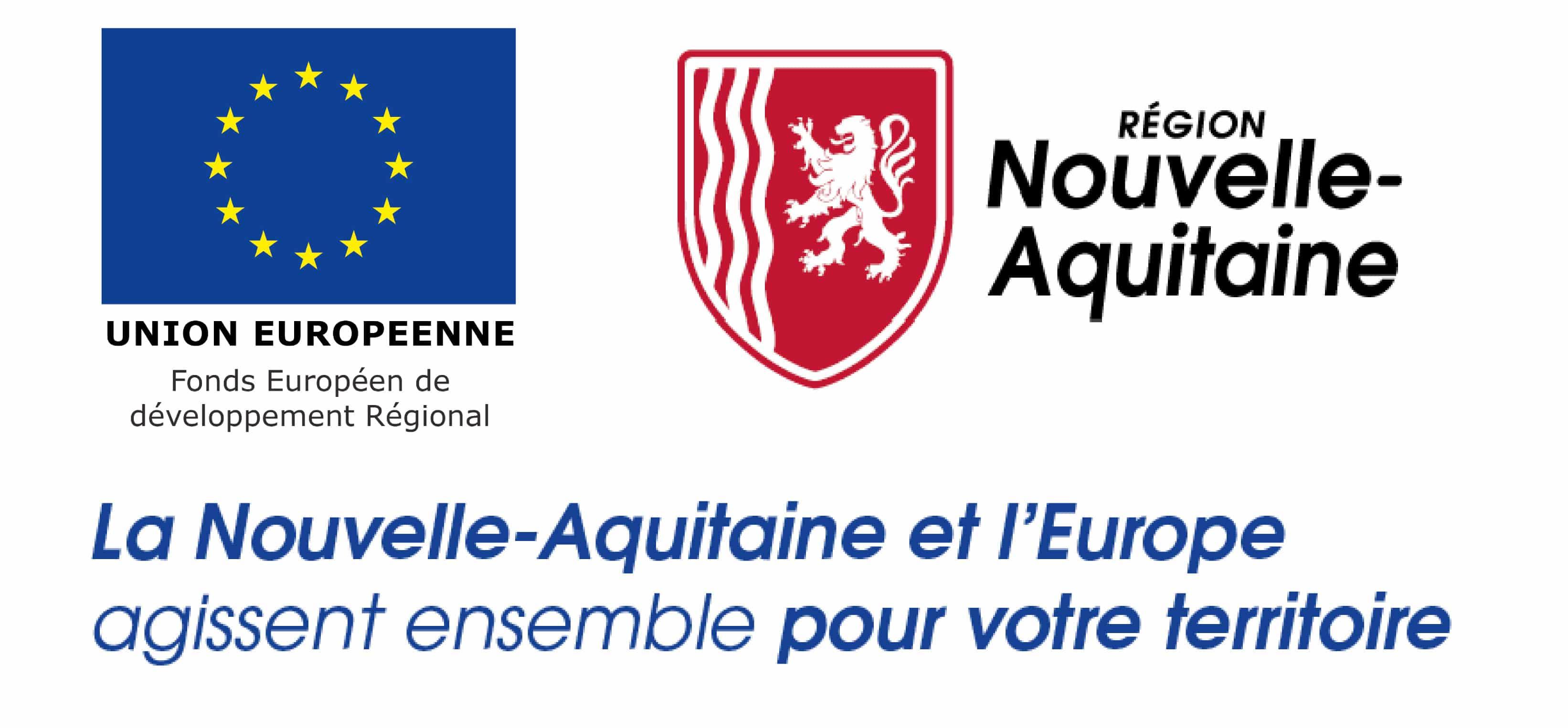 Europe Feder et La région Nouvel Aquitaine